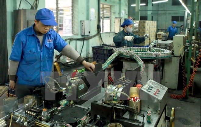 hanois industry sector targets 8 percent growth for 2018