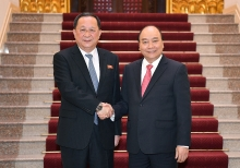 vietnam ready to cooperate with dprk for both peoples interests prime minister