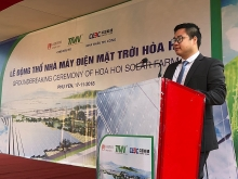 ground breaking ceremony held for phu yens first solar power plant