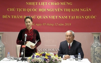 na chairwoman meets with vietnamese community in rok