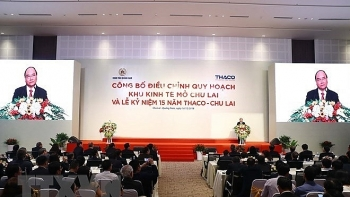 chu lai ez from arid to fertile land for industrial projects pm