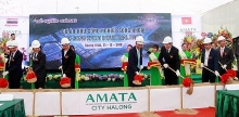 construction of song khoai industrial park begins in quang ninh