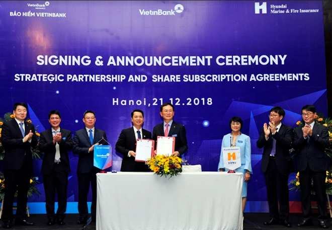 korea firm to buy vietinbank insurance stake