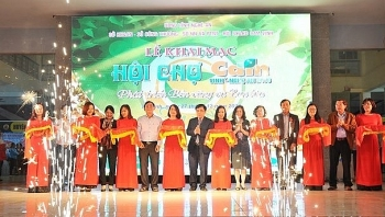 vinh orange fair 2018 opens in nghe an province