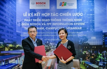bosch vietnam fpt is cooperate in providing smart transportation solutions in vietnam cambodia and myanmar