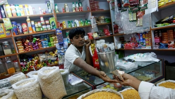 indias economic growth rate has halved in just three years