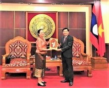ba ria vung tau celebrates vietnam laos friendship