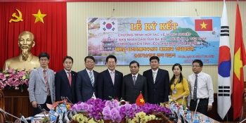ba ria vung tau strengthens multifaceted ties with south koreas jeollanam do province