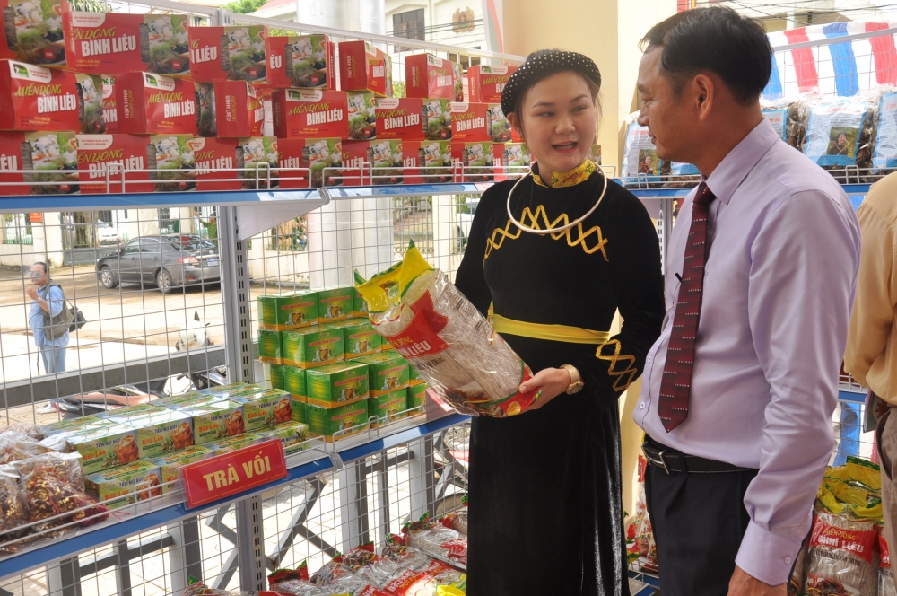 quang ninh affirms brand of ocop products