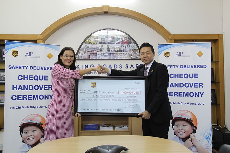 1 million usd grant from ups foundation for a new road safety program safety delivered