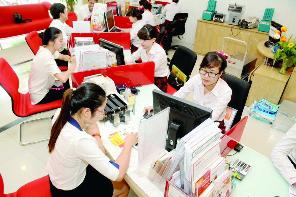a lucrative year for vietnamese banks