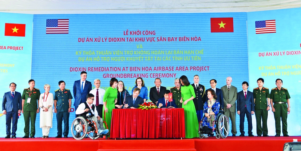 us vietnam mark milestone of ties