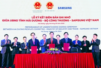 samsung offers opportunities for supporting industry firms