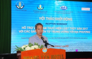 supporting fisheries reform from national to local action