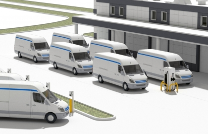 abb and amazon web services steer fleets to an all electric future