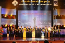 national quality award presented to 77 firms