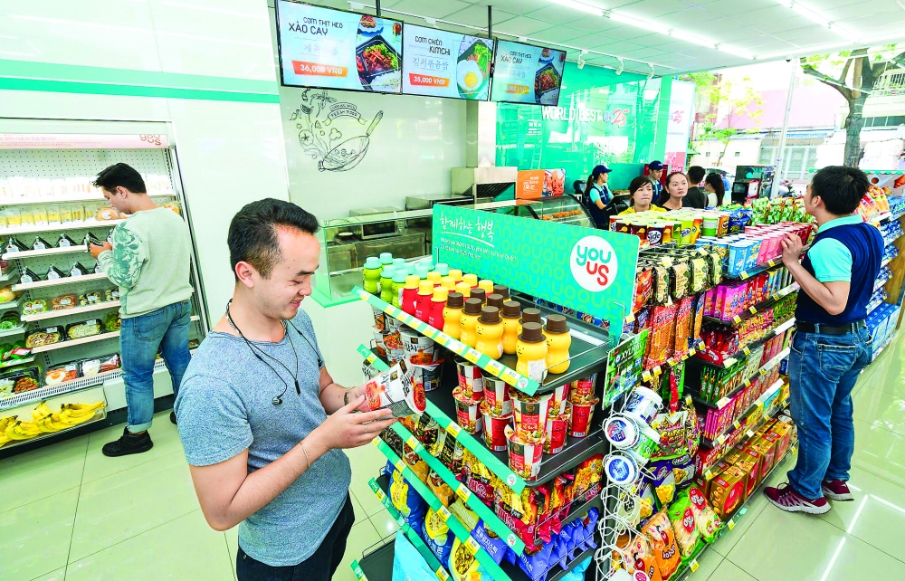 vietnam discovers convenience of convenience stores