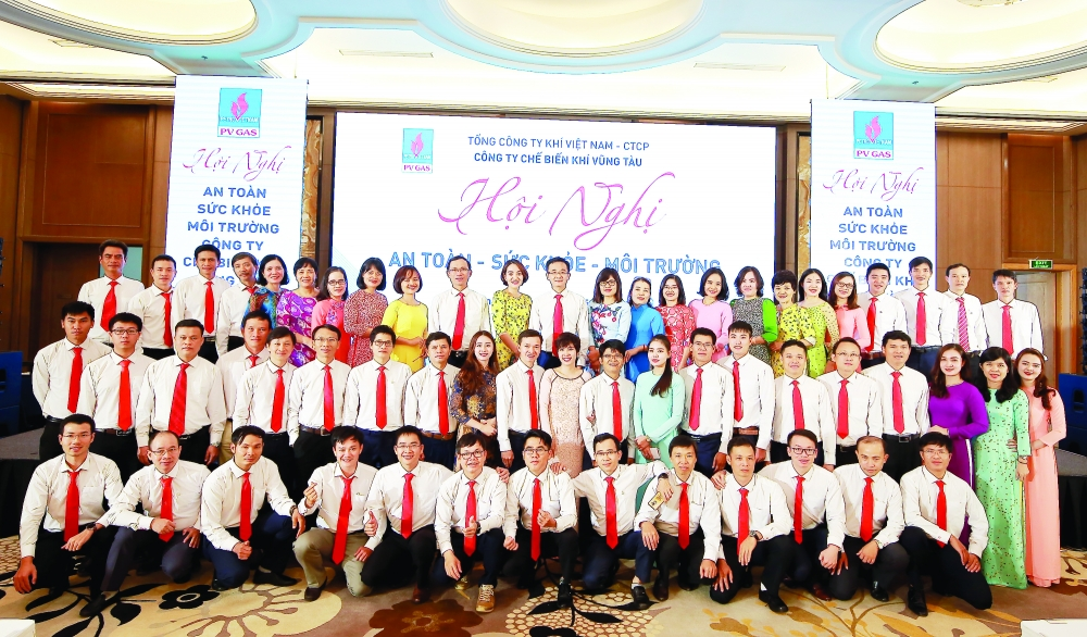 pv gas vung tau holds conference on safety health and environment