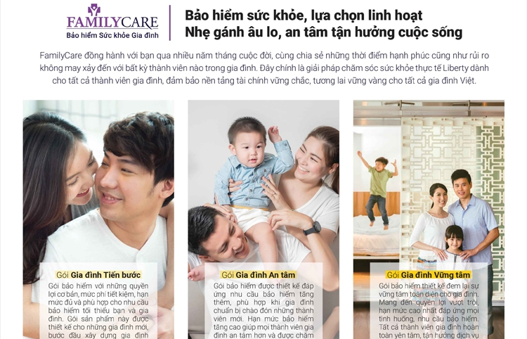 liberty insurance launches familycare for vietnamese families