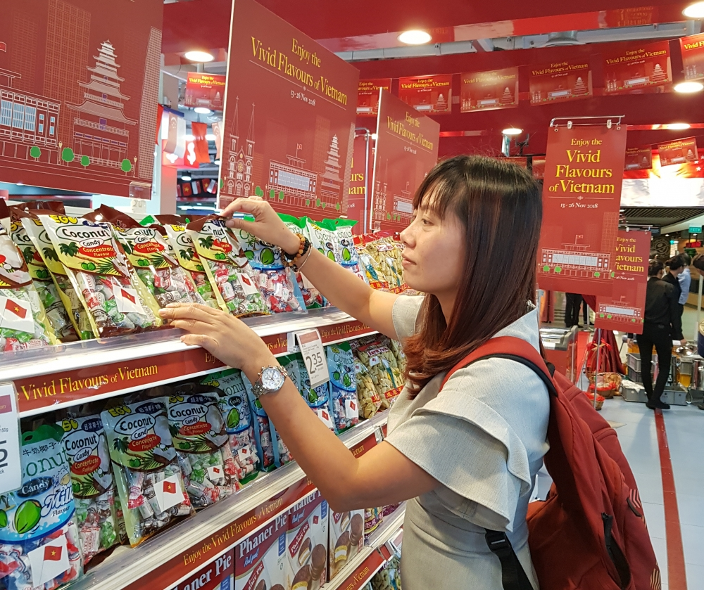 vietnamese products in foreign chains face challenge