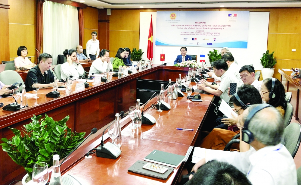 new trade treaty offers hope for vietnam france business cooperation