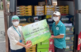 hcmc hospitals and healthcare centers receive new zealand donations