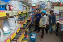 market days bring vietnamese goods to rural areas