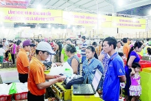 vietnamese goods increasingly welcome in mekong delta
