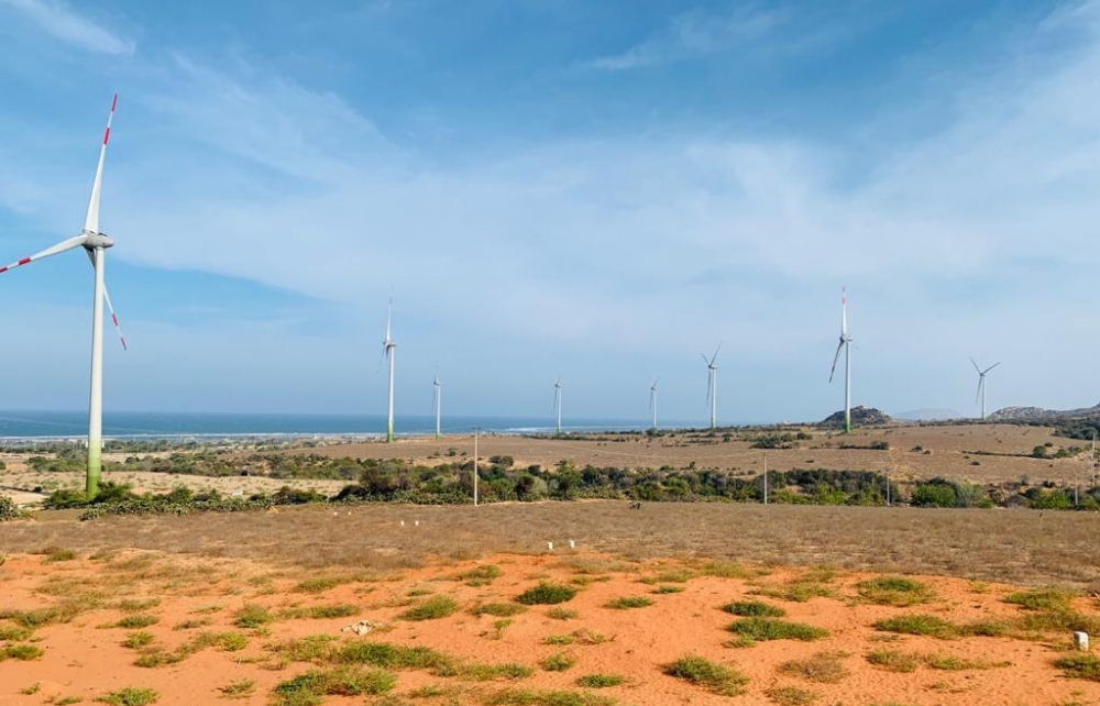 banpu energy group acquires mui dinh wind farm