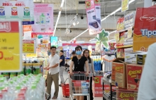 inflation exceeds target but is forecast to decline by years end