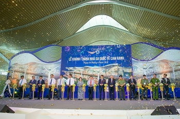 cam ranh international terminal improving position of vietnams aviation sector