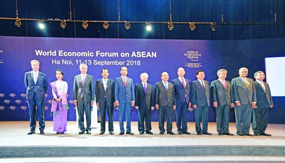 asean and global economic leaders brainstorm on tech trade challenges