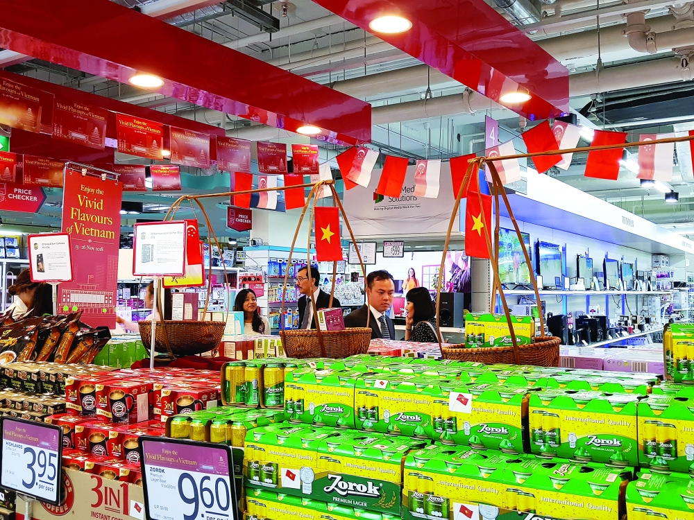 vietnamese goods carve out shelf space in foreign stores