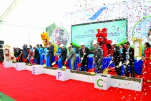 ground broken on first of its kind eco industrial zone