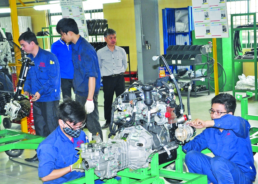 industrial sector still heavily dependent on foreign investment
