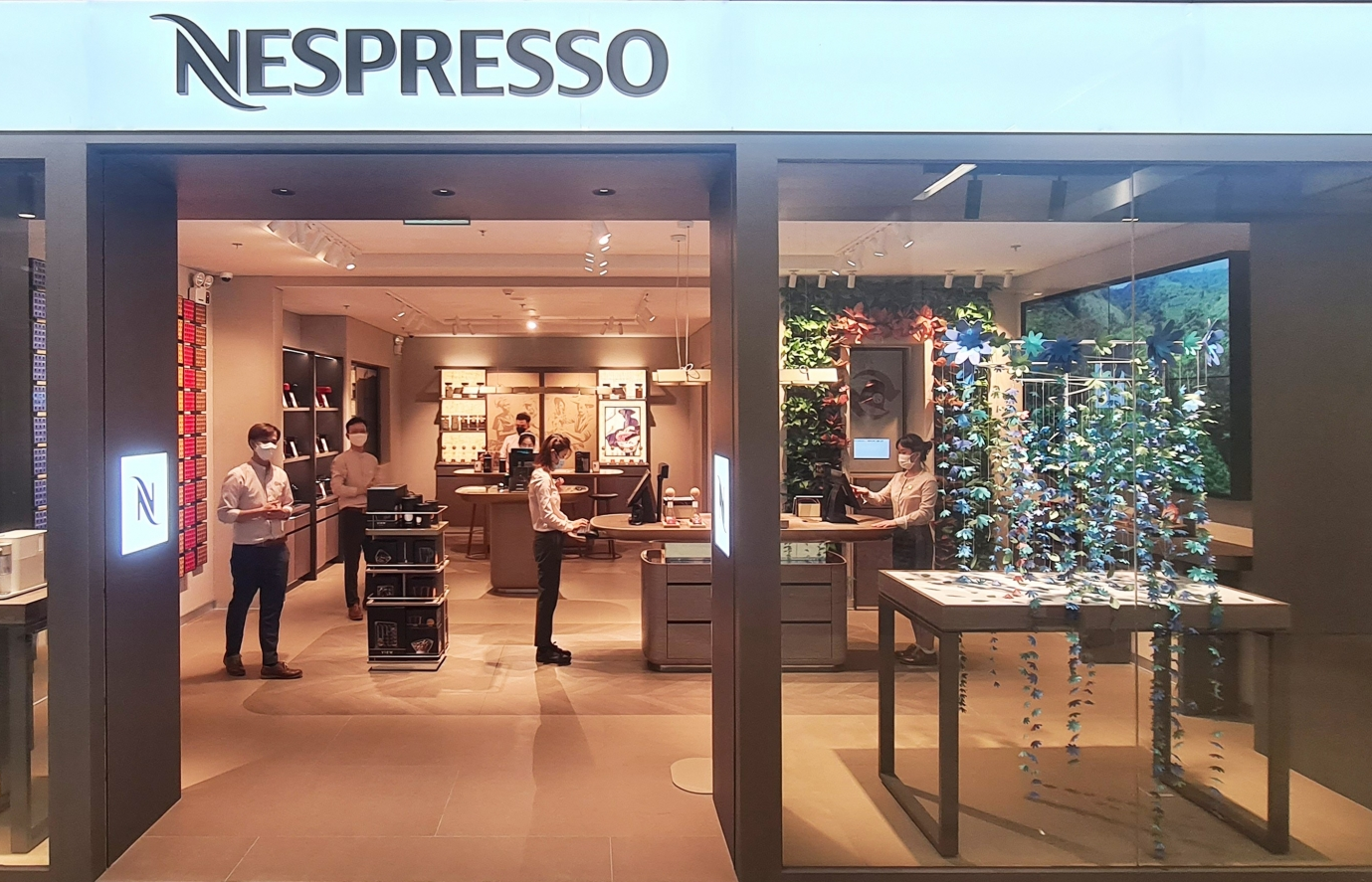 nespresso premieres new boutique concept to elevate visitors coffee experience