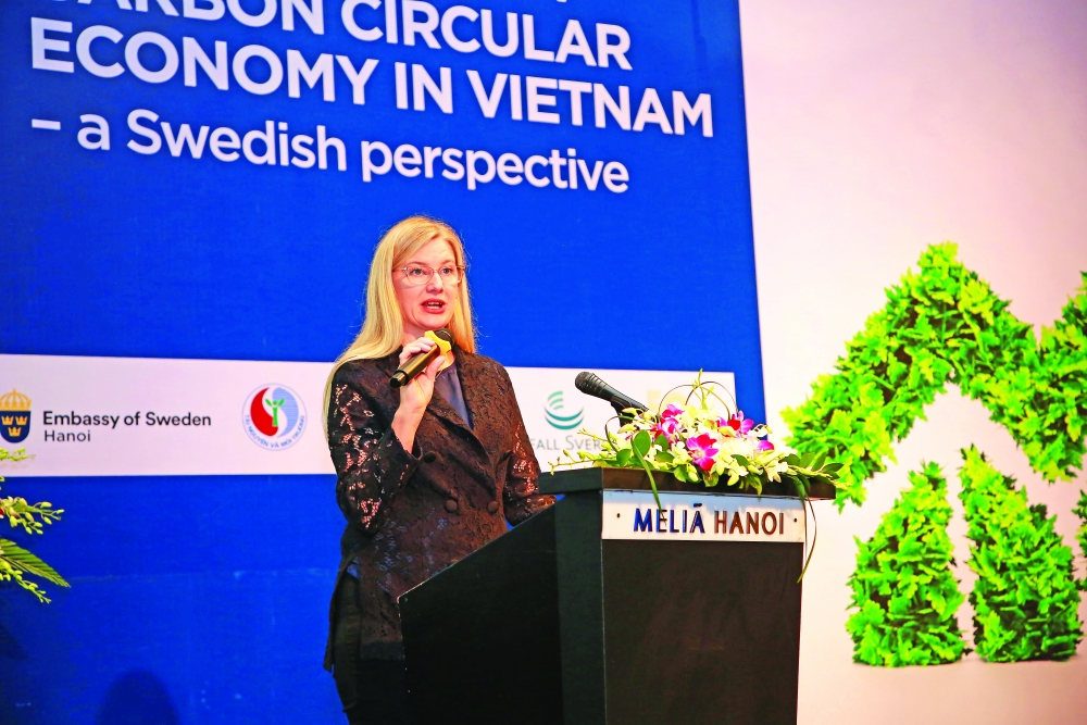 sweden offers vietnam help in shaping a zero waste circular economy
