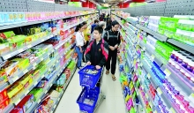 local fast goods sales overtake imported ones