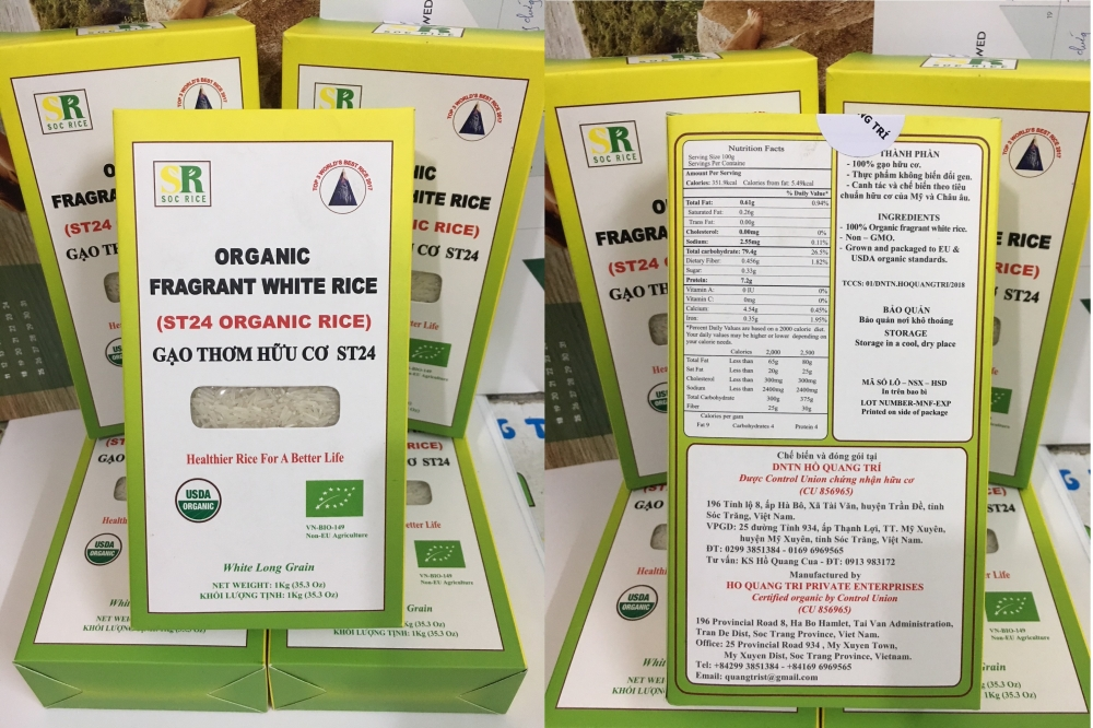 vietnamese rice crowned best at 2019 world rice conference