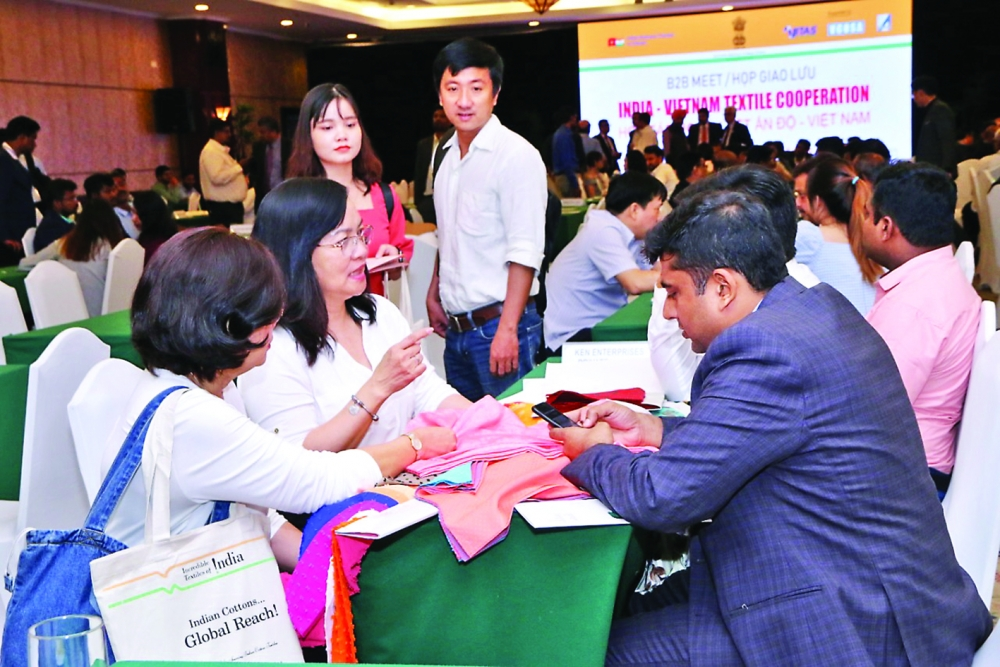 vietnamese indian textile firms seek closer ties