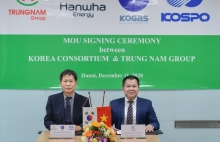 korea consortium and trung nam group sign mou on energy cooperation