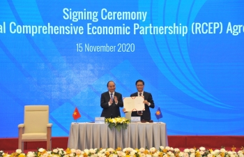rcep signing highlight of vietnams 2020 asean leadership