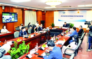 apec urges accelerated trade digitization to boost covid 19 recovery