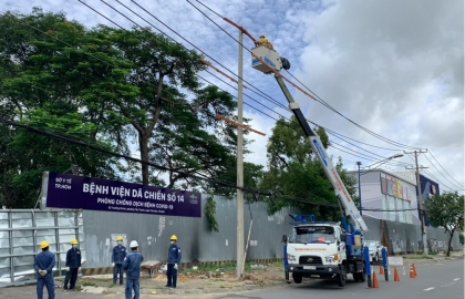 evn generates support for covid 19 fight in vietnams south