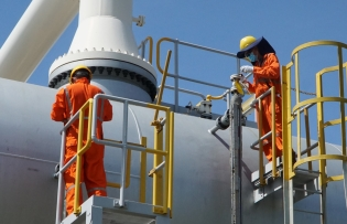 nam con son 1 gas pipeline system maintenance completed