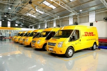 dhl opens the new dhl service center in binh duong province