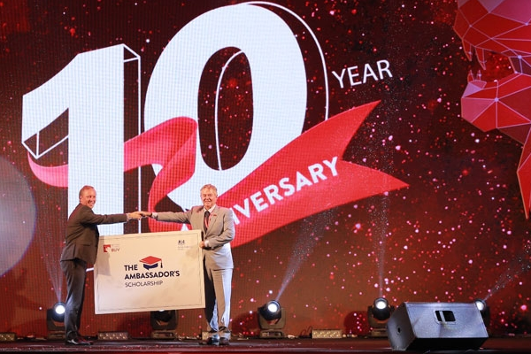 british university vietnam celebrates its 10 year anniversary