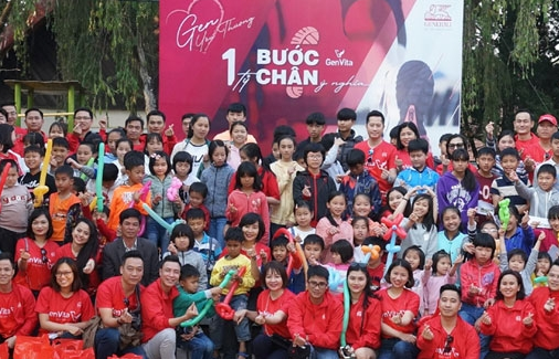 generali vietnam pioneers in using digital application for health and charity fundraising