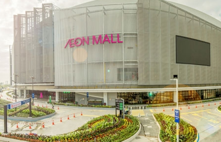 new shopping mall charges up with abb ev fast chargers