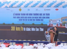 slow zones safe zones launches road modifications and new public awareness campaign in pleiku city